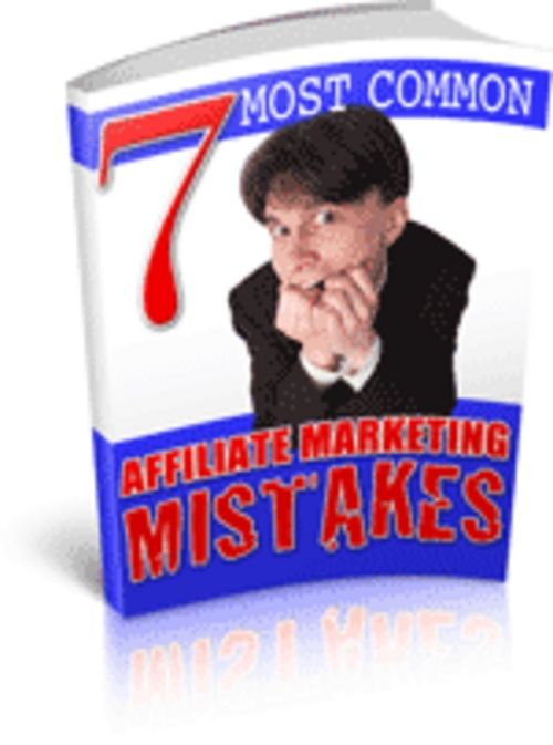 Product picture PLR Affiliate Marketing Articles+7 Affiliate Mktg Mistakes